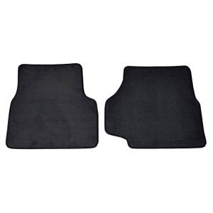 Defender Front Carpet Set with Rubber Backing Black - DA4022BLACK