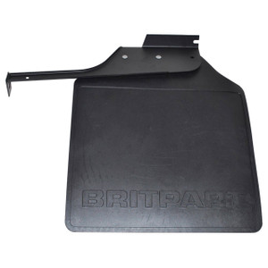 Defender 110/130 HCPU Rear Right Hand Mud Flap Black Logo - LR055331