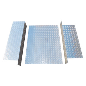 Series Chequer Plate Load Bay Liner Kit - DA2051