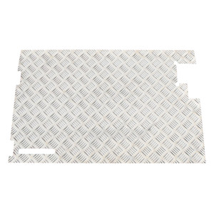 Defender & Series Chequer Plate Rear Door - DA2067