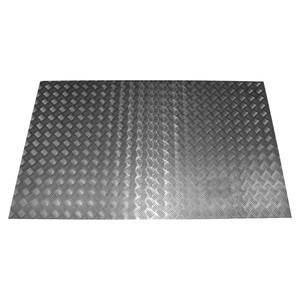 Defender 110 Chequer Plate Rear Floor Protector Natural Aluminium - DA2063