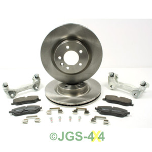 Range Rover Sport 2.7TDV6 Front Big Brake Disc Upgrade Kit - TF632