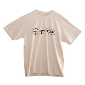 Steering Wheel Design Large T-Shirt - DA8073