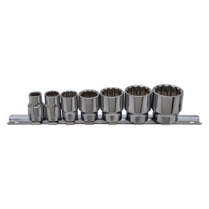 "3/8"" Drive Whitworth Socket Set Laser - DA1665"