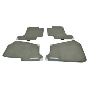 Range Rover Sport Front/Rear LHD Floor Carpet Set with Rubber Backing Aspen - EAH500011LUPLR