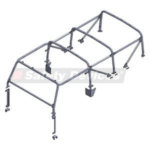 Defender 110 Internal/External Roll Cage Safety Devices - RBL2507SSS