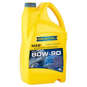 MZG EP 80W-90 GL4 Gear Oil 4 Litre Ravenol - DA1532