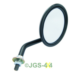 Land Rover Series & Range Rover Classic Round Wing Mirror & Stalk - 562912