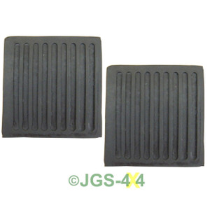 Land Rover Defender Brake And Clutch Pedal Rubbers x2 - 61K738