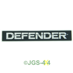 Land Rover Defender Front Grill Panel Badge Decal Self Adhesive GENUINE BTR1045