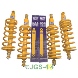 "Land Rover Discovery 1 Suspension +2"" Lift Kit Coil Spring & Shock Medium Load - DA4286MD"