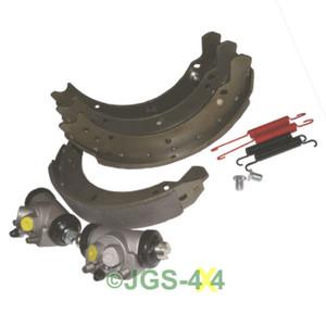Land Rover Series 2/3 SWB 88 Rear Brake Shoe & Wheel Cylinder Kit - DA6043