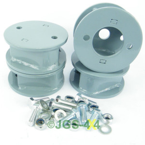 """Land Rover Defender & Discovery Spring Spacer Block Kit 50mm/2"""" Lift - DA6344/45"""