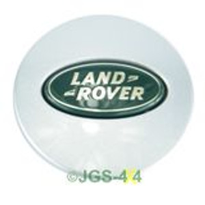 Land Rover Discovery 2, 3 & 4 Alloy Wheel Centre Cap Silver 63mm - LR001156