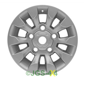 "Land Rover Defender SAWTOOTH Style Alloy Wheel Silver 16"" X 7"" - LR025862MNH"