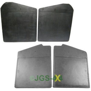 Land Rover Defender 90 Mud Flaps Front & Rear - RTC4685/MXC6412/MXC6413