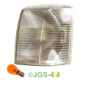 Land Rover Range Rover P38 Clear Indicator Front Left Lamp - XBD100930