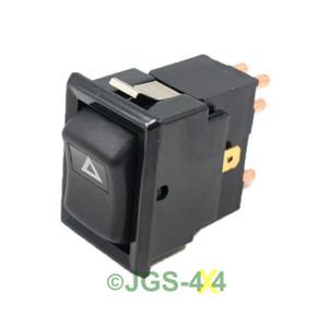 JGS4x4   Defender 90 110 Hazard Warning Lamp Switch - YUF101490