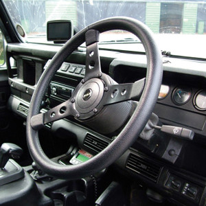 "Defender & Series 2/2A/3 15"" 3-Spoke Sports Steering Wheel - DA4650"