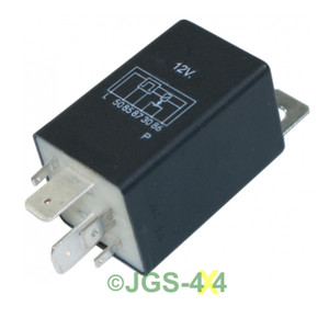 Land Rover Defender & Discovery 200/300TDi Glow Plug Relay - PRC6913