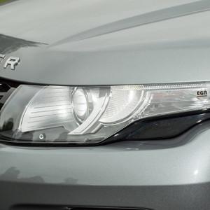 Range Rover Evoque Headlight Protector Clear Acrylic Pair Climair - DA1289