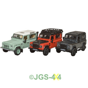 Land Rover Defender Heritage Collectable Die-Cast Metal Models - DA1335