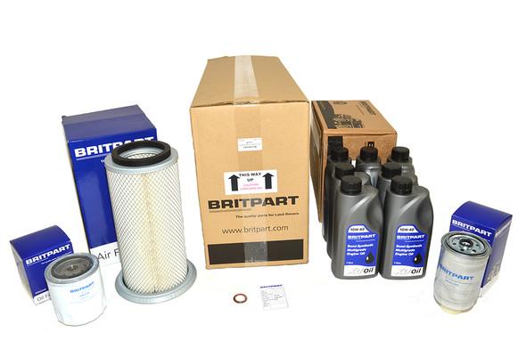 Land Rover Range Rover Classic 200Tdi Engine Service Filter Kit With Engine Oil - DA6006COM-1