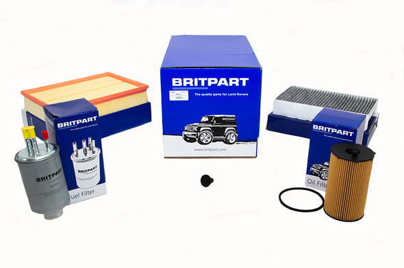 Land Rover Range Rover Sport L320 2.7 V6 Diesel Engine Service Filter Kit - DA6035-1