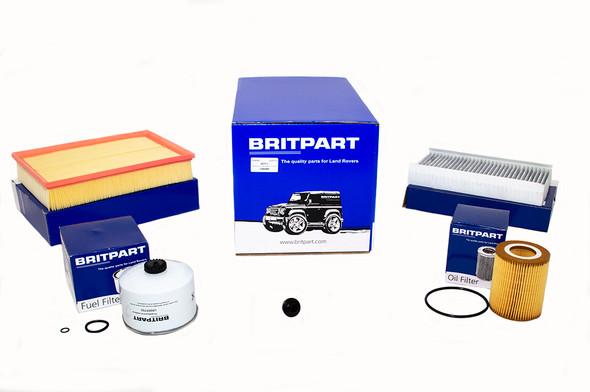 Land Rover Range Rover Sport L320 3.0 V6 Diesel Engine Service Filter Kit - DA6086-1