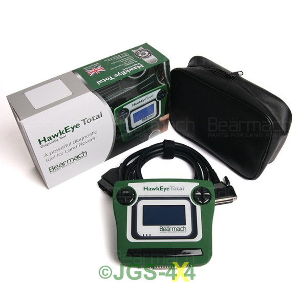 JGS4x4 | Land Rover HAWKEYE TOTAL Diagnostic Fault Code Reader Works On ALL Models - BA5068