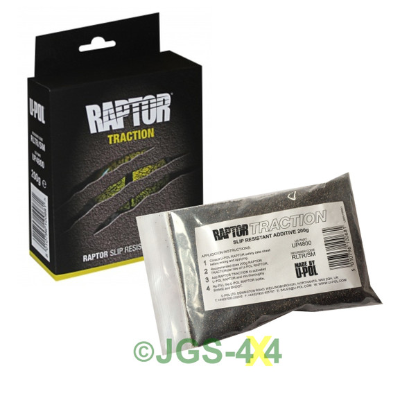 UPOL RAPTOR Slip Resistant Traction Aid Additive 200g Sachet - DA6484