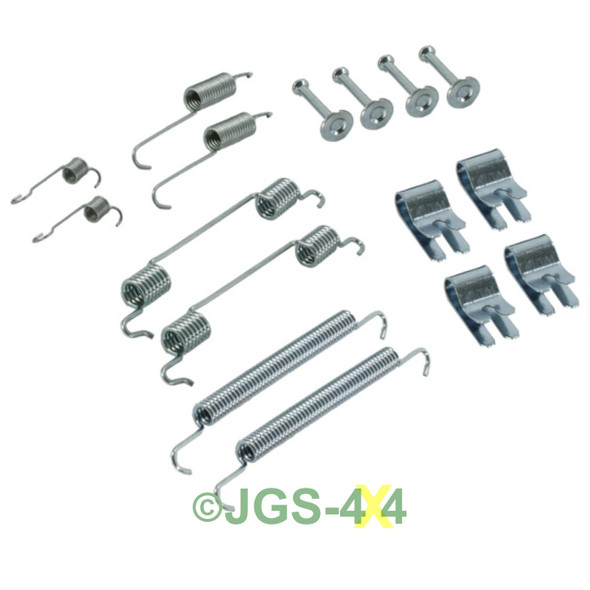 Freelander 1 Rear Brake Shoe Spring Kit - SMN000020