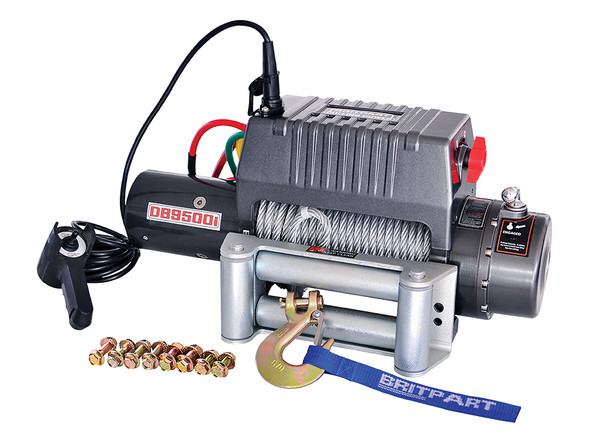 12V Pulling Power Electric Recovery Winch 9,500lbs - DB9500I