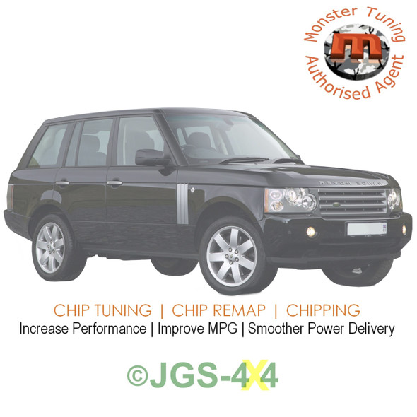 Range Rover L322 3.0 TD6 Monster Tuning Remap Performance Engine Tune