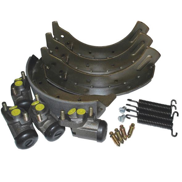 Land Rover Series 2/3 Front Brake Shoe & Wheel Cylinder Kit - DA6044