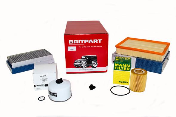Land Rover Range Rover Sport L320 3.0 V6 diesel OEM Premium Engine Service Filter Kit - DA6086P-1