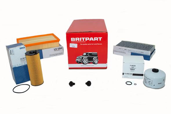 Land Rover Range Rover Sport L320 3.6 diesel OEM Premium Engine Service Filter Kit - DA6036P