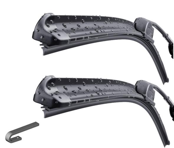 Land Rover Defender Windscreen Bosch Aero Wiper Blade Upgrade x2