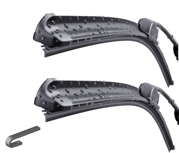Land Rover Defender Windscreen Bosch Aero Wiper Blade Upgrade x2