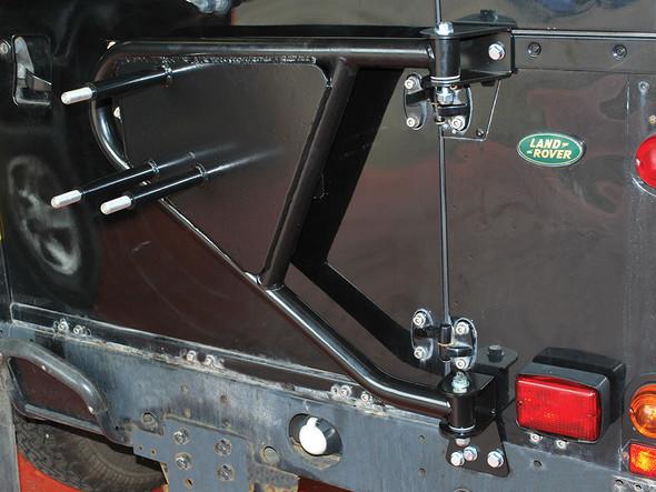 JGS4x4 | Land Rover Defender Swing Away Spare Wheel Carrier - DA2232
