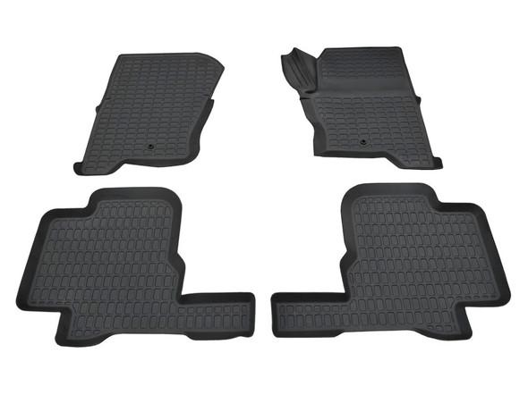 Discovery 3 L319 Rubber Floor Mat Set Black RHD - DA4802