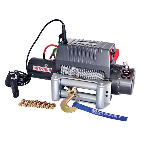 Pulling Power Winch 12000 lbs - DB12000i24