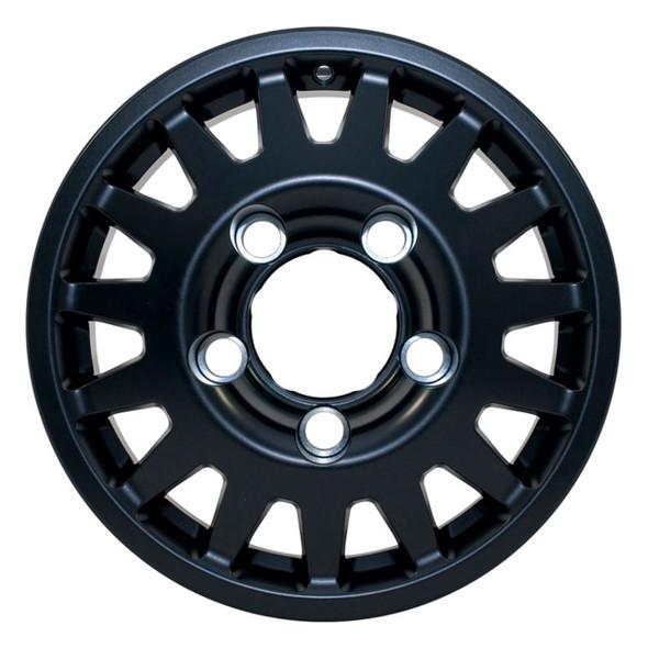 "Defender & Discovery1 & Range Rover Classic Blindo 16"" x 7"" Wheel Black Maxtrac - DA2489"