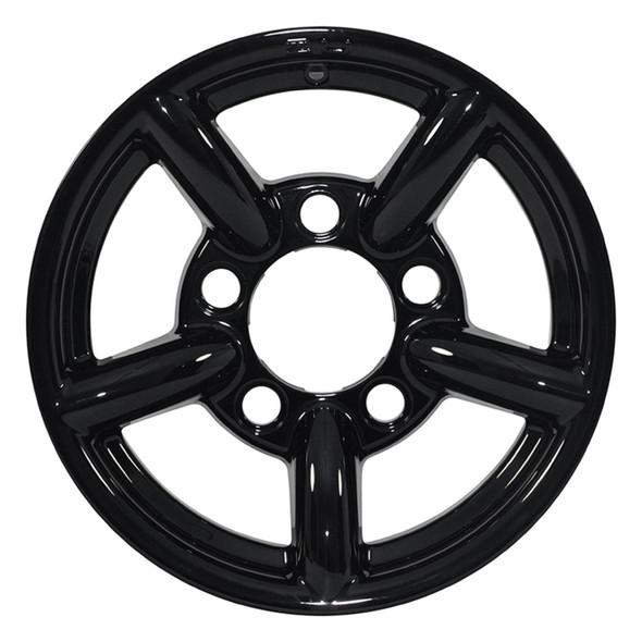 "Defender & Discovery1 & Range Rover Classic 16"" x 7"" Wheel Black Gloss Zu Rim - DA2436"