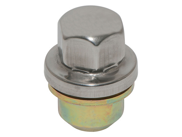 Discovery 1 & Defender Alloy Wheel Nut Stainless Steel Capped - RRD500560
