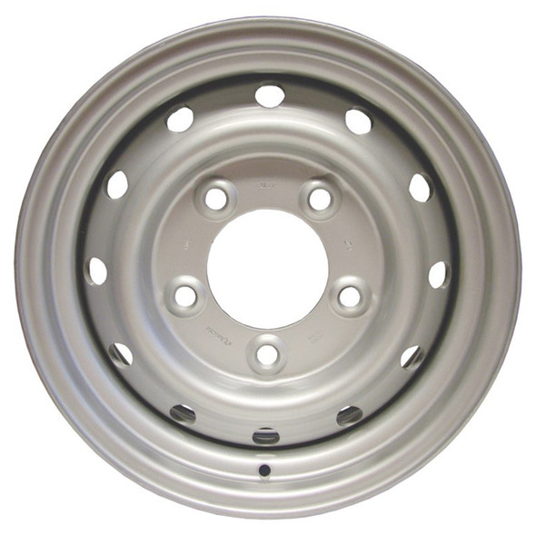 """Defender 16"""" x 6.5J Wolf Style Welded Tubeless Wheel - ANR4583SILVER"""