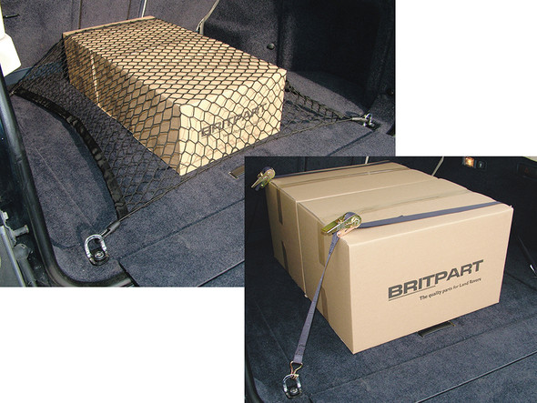 Land Rover Load Retention Net And Ratchet Straps - VPLCS0269