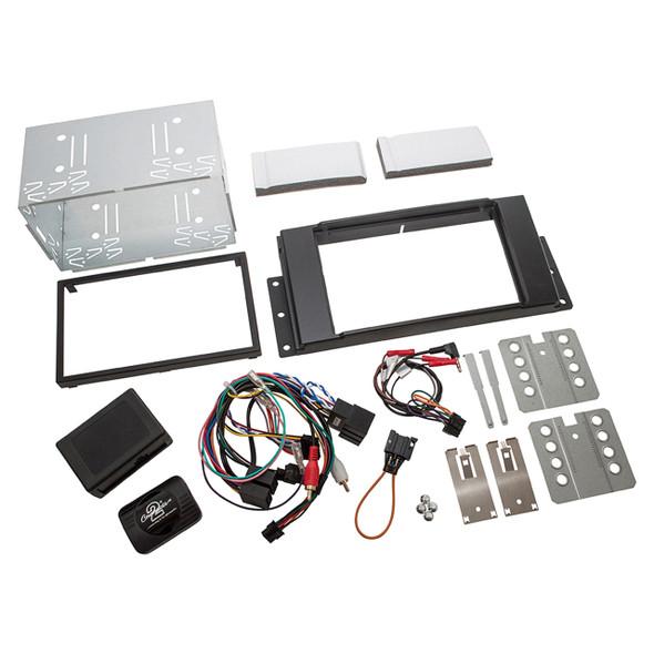 Range Rover Sport Double Din Radio Installation Fascia - DA2652