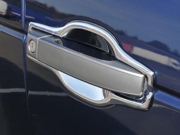 JGS4x4   Land Rover Range Rover L322 Door Handle Surround Chrome Trim Set - DA5654