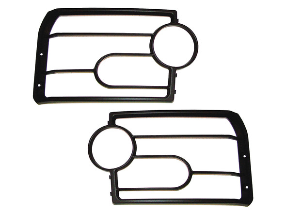 JGS4x4 | Land Rover Discovery 3 Front Light Guards - VUB501200
